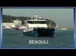 Offshore Tender Schiff SEAGULL (IMO 9698678) verlässt den Sassnitzer Hafen. - 25.08.2016 