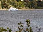 KLEINE FREIHEIT (ENI 05113790) am 15.9.2017, Hamburg, Elbe Höhe Övelgönne, auf der Rückfahrt nach Blankenese / weitere Namen: SCHULAU, 1992-2000 – SEEBAD JULIUSRUH, 2000-2017, Reederei Kipp, Breege, Rügen -  KLEINE FRE ...